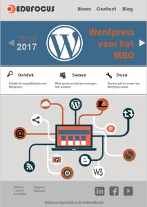 Wordpress voor het MBO ROC