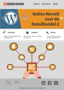 Online wereld voor de detailhandel - e-commerce webshop MBO ROC