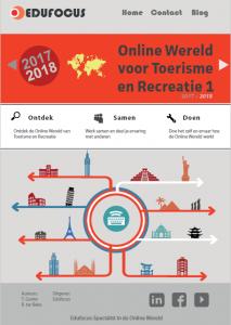 Onlie wereld voor toerisme en recreatie - MBO - ROC
