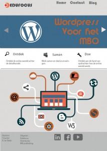 Wordpress voor het MBO - ROC