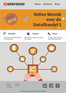 Online wereld voor de detailhandel en e-commerce