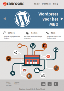 Wordpress voor het MBO. Roc
