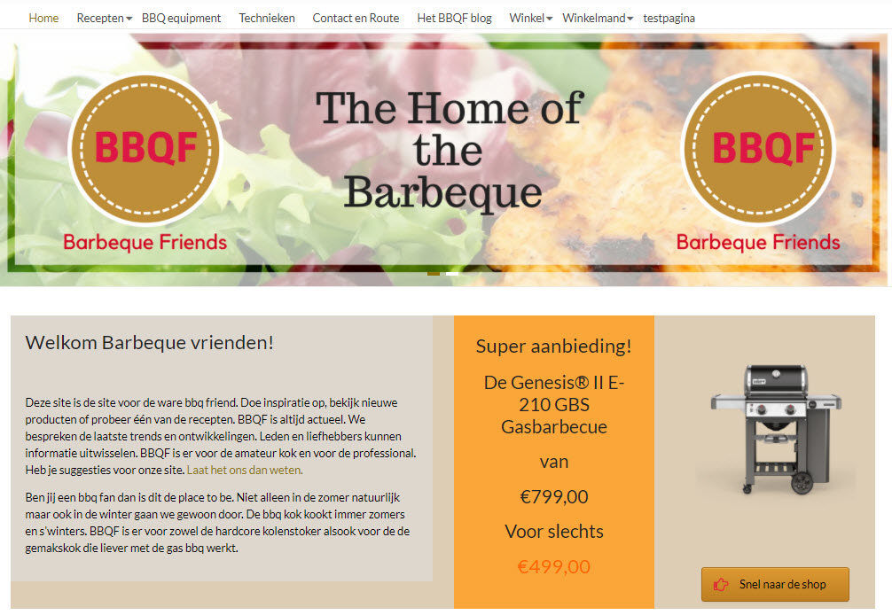 lesmateriaal Ecommerce webshop